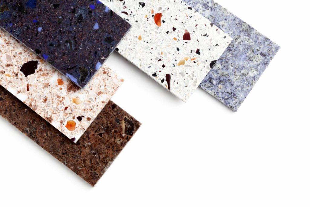 Top cucina in granito e quarzo colori