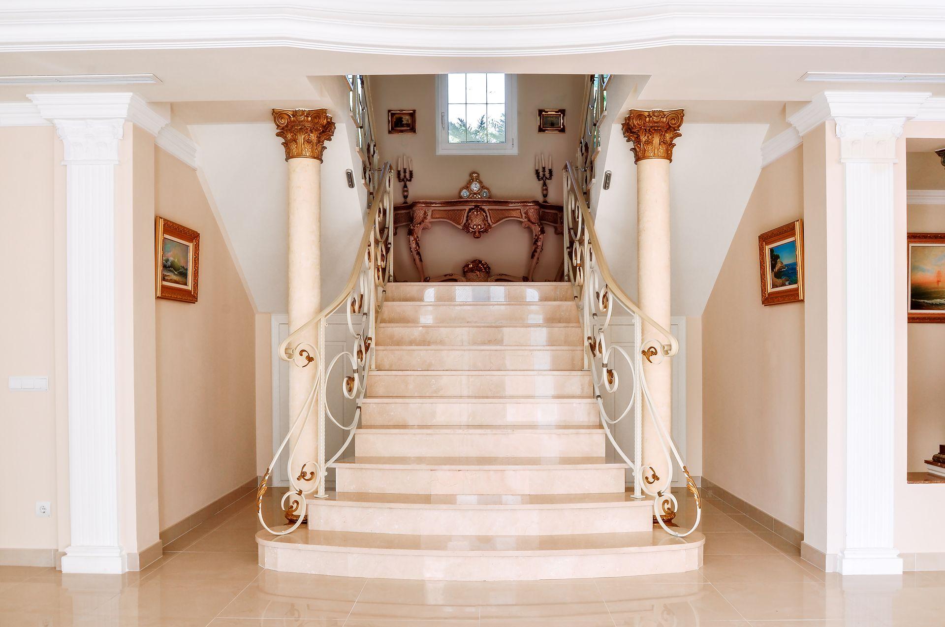 Foto Scale Interne Moderne come scegliere scale in marmo per interni e per esterni