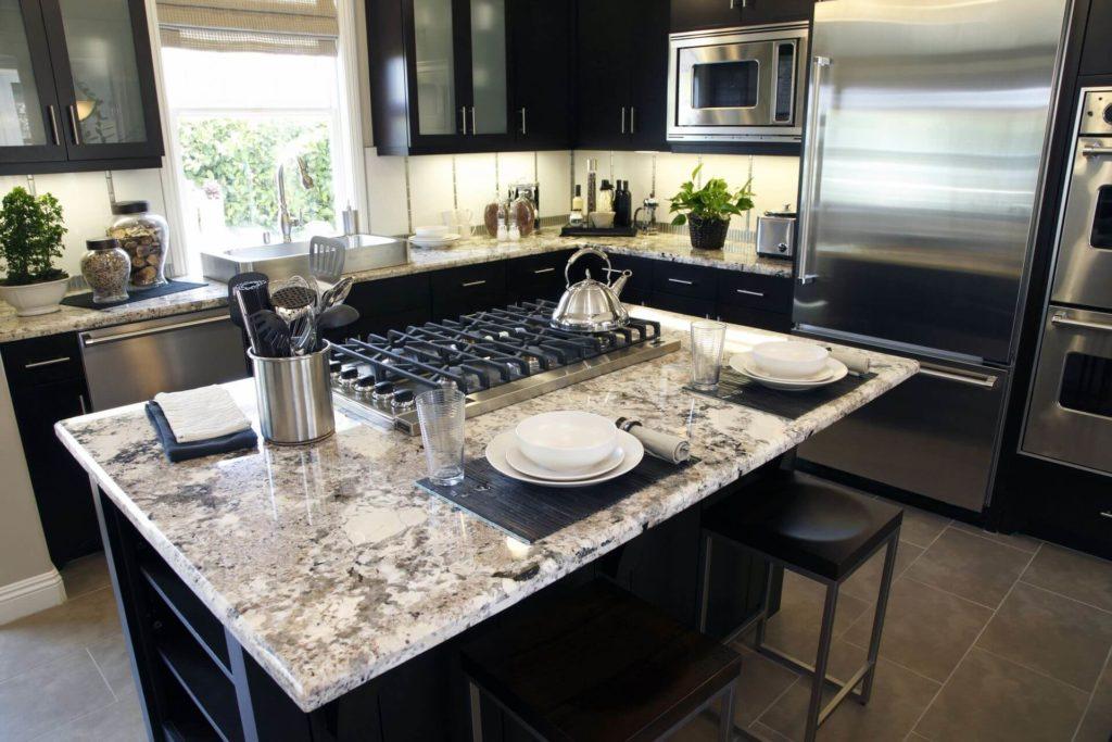 Perché scegliere il top cucina in granito: colori e ...
