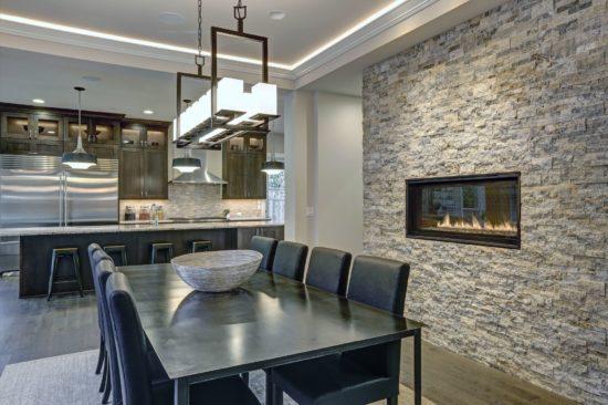 Consigli per arredare con le pietre la tua casa moderna for Consigli per arredare una casa moderna