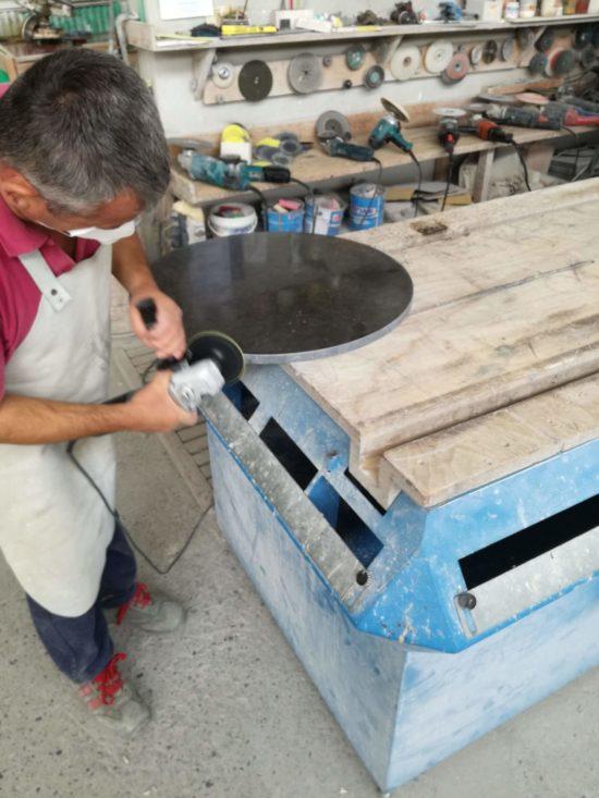 lavorazione del marmo cantiere navoni