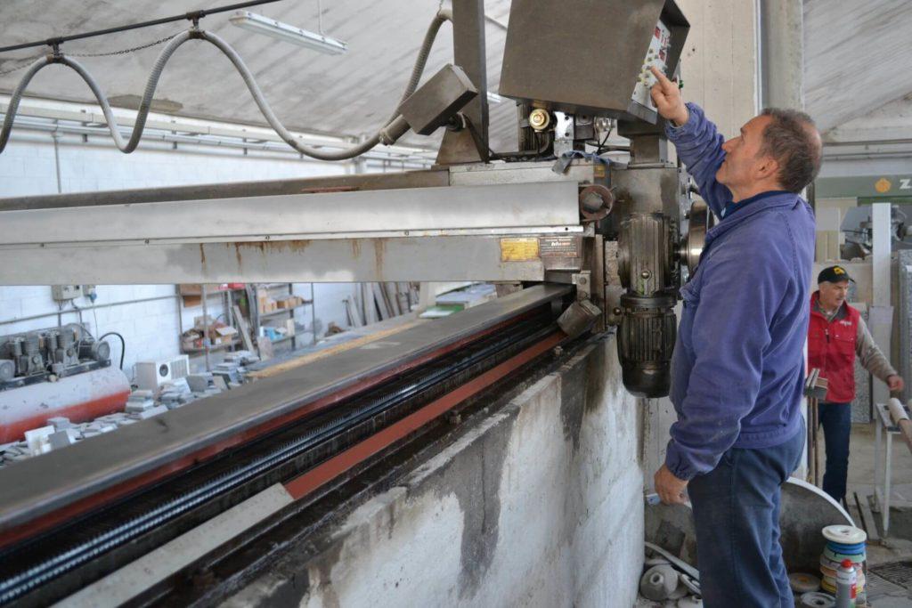 processi lavorazione marmo navoni