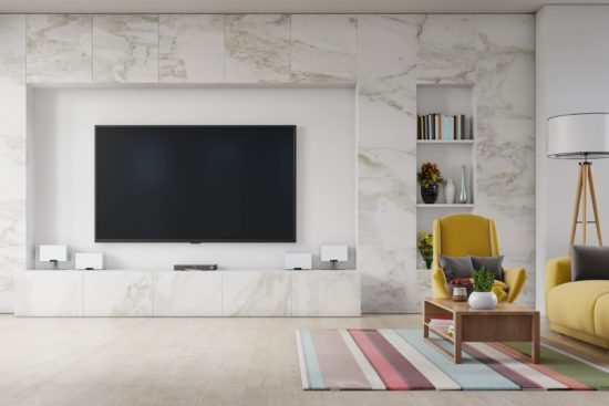 Le pareti in marmo per interni, un vezzo profondamente stiloso
